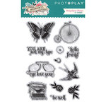 Photo Play Paper - Moments in Time Collection - Clear Acrylic Stamps