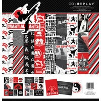 Color Play - Martial Arts Collection - 12 x 12 Collection Pack