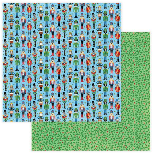 Photo Play Paper - Christmas - Muttcracker Collection - 12 x 12 Double Sided Paper - Muttcracker