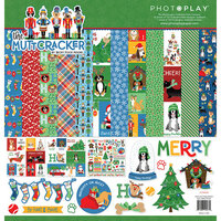 Photo Play Paper - Christmas - Muttcracker Collection - 12 x 12 Collection Pack