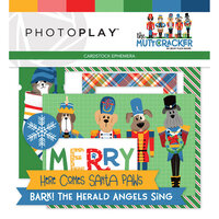 Photo Play Paper - Christmas - Muttcracker Collection - Ephemera