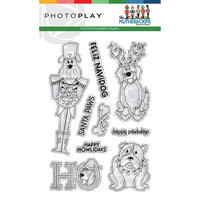 Photo Play Paper - Christmas - Muttcracker Collection - Clear Photopolymer Stamps