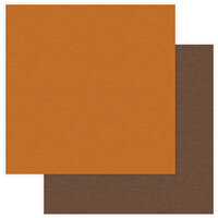 Photo Play Paper - National Parks Grand Canyon Collection - 12 x 12 Double Sided Paper - Solids - Orange and Brown