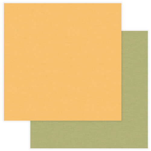 Photo Play Paper - National Parks Grand Canyon Collection - 12 x 12 Double Sided Paper - Solids - Yellow and Green