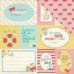 Photo Play Paper - Nautical Bliss Collection - 12 x 12 Double Sided Paper - Cards