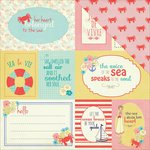 PhotoPlay Paper - Nautical Bliss Collection - 12 x 12 Double Sided Paper - Cards