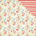 PhotoPlay Paper - Nautical Bliss Collection - 12 x 12 Double Sided Paper - Floral
