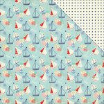 PhotoPlay Paper - Nautical Bliss Collection - 12 x 12 Double Sided Paper - Boats