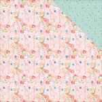 Photo Play Paper - Nautical Bliss Collection - 12 x 12 Double Sided Paper - Pink Dolls