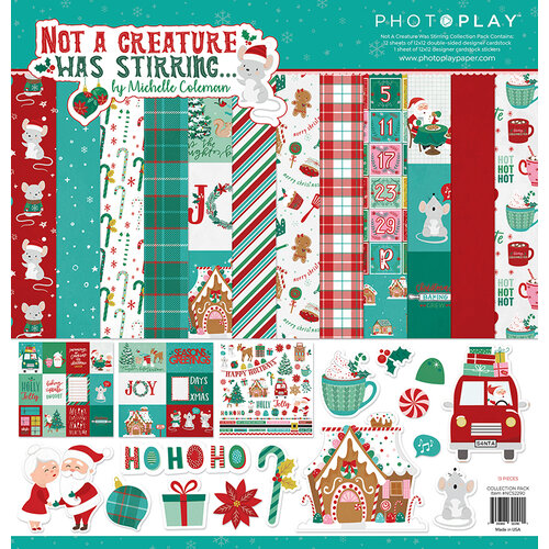 Photo Play Paper - Not A Creature Was Stirring Collection - 12 x 12 Collection Pack