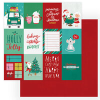 Photo Play Paper - Not A Creature Was Stirring Collection - 12 x 12 Double Sided Paper - Christmas Cheer