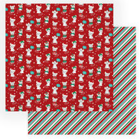 Photo Play Paper - Not A Creature Was Stirring Collection - 12 x 12 Double Sided Paper - Not Even a Mouse