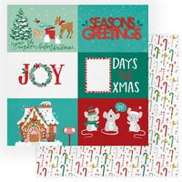 Photo Play Paper - Not A Creature Was Stirring Collection - 12 x 12 Double Sided Paper - Seasons Greetings