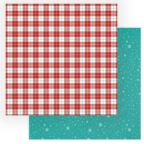 Photo Play Paper - Not A Creature Was Stirring Collection - 12 x 12 Double Sided Paper - Christmas Eve