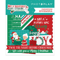 Photo Play Paper - Not A Creature Was Stirring Collection - Ephemera
