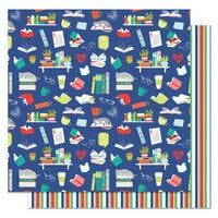 Photo Play Paper - Notting Hill Collection - 12 x 12 Double Sided Paper - Reading List