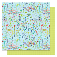 Photo Play Paper - Notting Hill Collection - 12 x 12 Double Sided Paper - Currently Reading