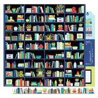 Photo Play Paper - Notting Hill Collection - 12 x 12 Double Sided Paper - My Library