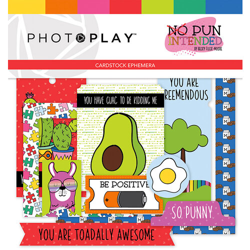 Photo Play Paper - No Pun Intended Collection - Ephemera