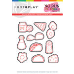 Photo Play Paper - No Pun Intended Collection - Foodie Die Set