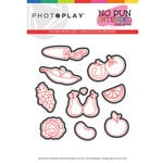 Photo Play Paper - No Pun Intended Collection - Fruits & Veggies Die Set