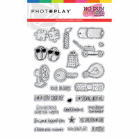 Photo Play Paper - No Pun Intended Collection - Clear Photopolymer Stamps - So Punny