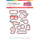 Photo Play Paper - No Pun Intended Collection - So Punny Die Set