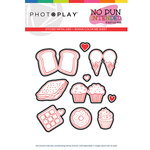 Photo Play Paper - No Pun Intended Collection - Sweets Die Set