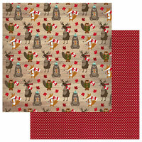 Photo Play Paper - O Canada Collection - 12 x 12 Double Sided Paper - Canadian Critters