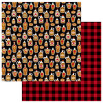Photo Play Paper - O Canada Collection - 12 x 12 Double Sided Paper - Maple Syrup