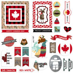 Photo Play Paper - O Canada Collection - Ephemera