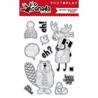 Photo Play Paper - O Canada Collection - Clear Acrylic Stamps