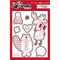 Photo Play Paper - O Canada Collection - Die Set