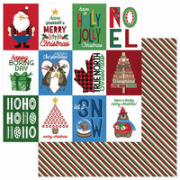 Photo Play Paper - O Canada Christmas Collection - 12 x 12 Double Sided Paper - Merry Christmoose