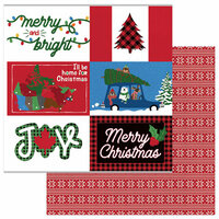 Photo Play Paper - O Canada Christmas Collection - 12 x 12 Double Sided Paper - Home For Christmas