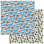 Photo Play Paper - O Canada Christmas Collection - 12 x 12 Double Sided Paper - Through the Woods