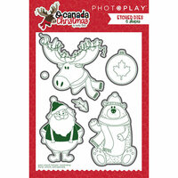 Photo Play Paper - O Canada Christmas Collection - Die Set