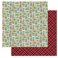 Photo Play Paper - O Canada 2 Collection - 12 x 12 Double Sided Paper - Pure Maple Syrup