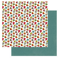 Photo Play Paper - O Canada 2 Collection - 12 x 12 Double Sided Paper - Toques