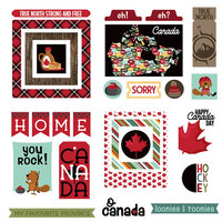 Photo Play Paper - O Canada 2 Collection - Ephemera