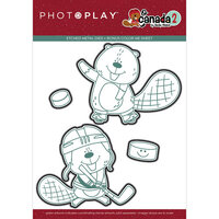 Photo Play Paper - O Canada 2 Collection - Dies - Beaver Hockey