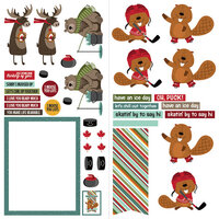 Photo Play Paper - O Canada 2 Collection - 12 x 12 Double Sided Paper - Elements
