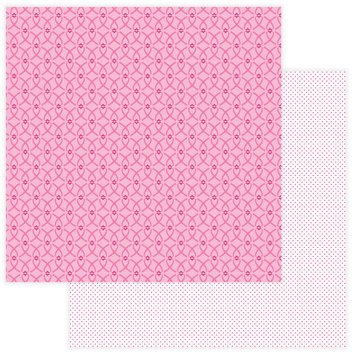 Color Play - Operation Save 2nd Base Collection - 12 x 12 Double Sided Paper - Support