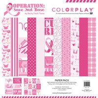 Color Play - Operation Save 2nd Base Collection - 12 x 12 Paper Pack