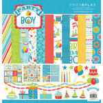 PhotoPlay Paper - Party Boy Collection - 12 x 12 Collection Pack
