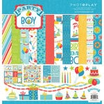 Photo Play Paper - Party Boy Collection - 12 x 12 Collection Pack