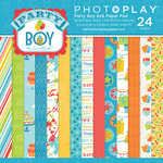 Photo Play Paper - Party Boy Collection - 6 x 6 Paper Pad
