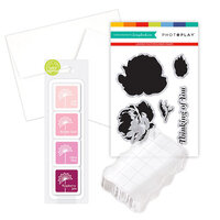 Photo Play Paper - Clear Photopolymer Stamp Set - Petite Belle Fleur Card Making Bundle Three