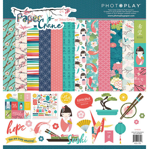 Photo Play Paper - Paper Crane Collection - 12 x 12 Collection Pack
