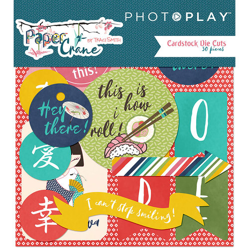 Photo Play Paper - Paper Crane Collection - Ephemera